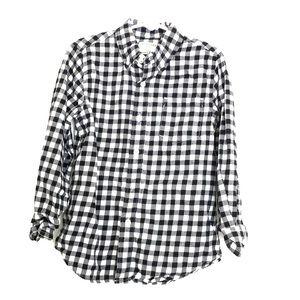 Crew cuts checker flannel shirt